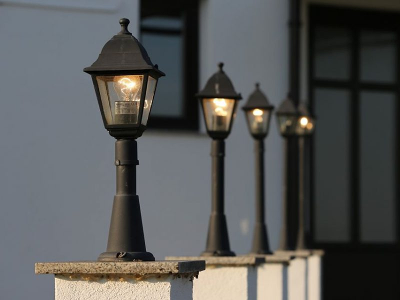 safety tips for outdoor lighting
