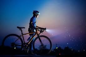 Bike Light In The Night